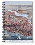 The City Of Boston Spiral Notebook
