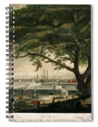 The City Of Philadelphia In The State Of Pennsylvania. North America Spiral Notebook