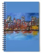 The City Spiral Notebook