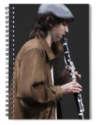 The Clarinet Player Spiral Notebook
