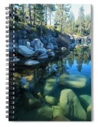 The Clarity Of Morning  Spiral Notebook