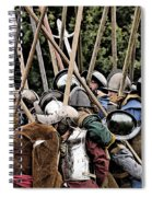 The Clash Of The Pikemen Spiral Notebook