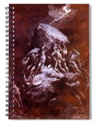 The Clash Of The Titans 1866 Spiral Notebook