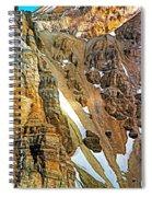 The Climb To Abbot's Hut - Paint Spiral Notebook