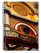 The Clock In The Union Station Nashville Spiral Notebook