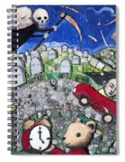 The Clock Is Ticking Spiral Notebook