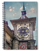 The Clock Of Clocks Spiral Notebook