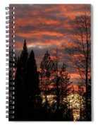 The Close Of Day Spiral Notebook