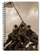 The Clouds Over Iwo Jima Spiral Notebook