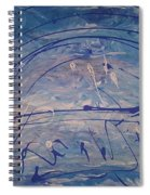 The Clouds,  The Ocean,  The Bridge  Spiral Notebook