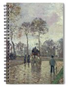 The Coach To Louveciennes Spiral Notebook