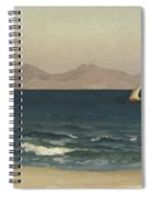 The Coast Of Asia Minor Spiral Notebook
