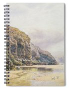 The Coast Of Cornwall  Spiral Notebook