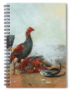 The Cock Fight Spiral Notebook