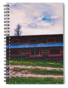 The Cockeyed Cabin Spiral Notebook