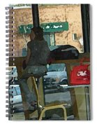 The Coffee Shop Spiral Notebook