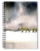 The Cold Walk Spiral Notebook