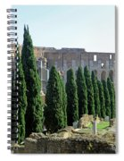 The Coliseum Spiral Notebook