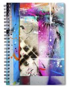 The Collage  Spiral Notebook