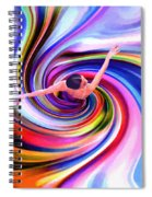 The Colorful Ballet Dress Spiral Notebook