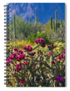 The Colorful Desert  Spiral Notebook