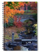 The Colors Of Fall Spiral Notebook