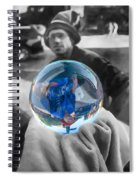 The Colors Of Tomorrow Spiral Notebook