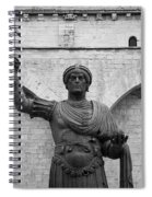 The Colossus Of Barletta Spiral Notebook