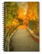 The Colour Around The Corner Spiral Notebook