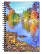 The Colours Of October Spiral Notebook