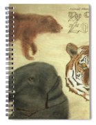 The Columbus, Oh Zoo Spiral Notebook