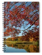 The Comfort Of Autumn Spiral Notebook