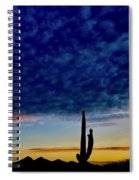 Courtship Of The Seven Sisters Spiral Notebook