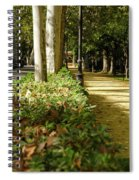 The Coming Of Autumn Spiral Notebook