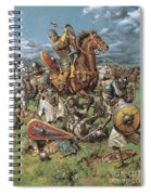 The Coming Of The Conqueror Spiral Notebook