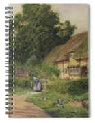The Coming Of The Haycart  Spiral Notebook