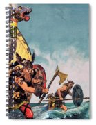 The Coming Of The Vikings Spiral Notebook
