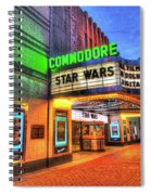 The Commodore Theatre, Portsmouth, Va Spiral Notebook