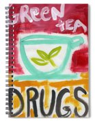 The Common Cure- Abstract Expressionist Art Spiral Notebook