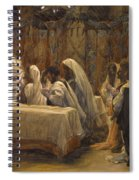 The Communion Of The Apostles Spiral Notebook