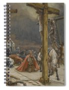 The Confession Of Saint Longinus Spiral Notebook