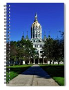 The Connecticut State Capitol Spiral Notebook
