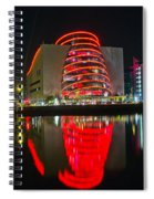 The Convention Centre Reflection Spiral Notebook