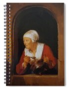 The Cook 1665 Spiral Notebook