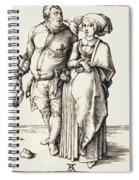 The Cook And His Wife Spiral Notebook