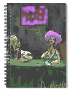 The Corner Bar Spiral Notebook