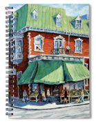 The Corner Market Spiral Notebook