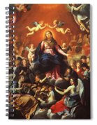 The Coronation Of The Virgin 1626 Spiral Notebook
