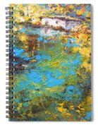 The Cottage By The Lagoon Spiral Notebook