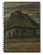 The Cottage Nuenen, May 1885 Vincent Van Gogh 1853  1890  Spiral Notebook